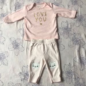Carters 3 month outfit. EUC.